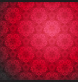 red ornamental seamless vector image vector image