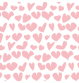 valentine seamless pale polka dot pattern with vector image