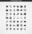 42 professional icons vector | Price: 1 Credit (USD $1)