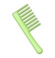Comb icon cartoon style vector image vector image