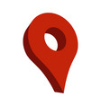 geo location pin icon vector image vector image