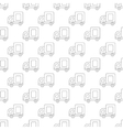 Medium truck pattern seamless vector image