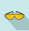 sun glasses icon flat style vector image vector image