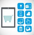 apps market vector image