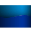 background blue stripe wave one vector image vector image
