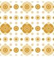 Beige Circles Horizontal vector image