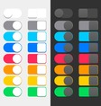 Colorful Switchers vector image