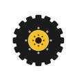 gear icon Machine part concept graphic vector image