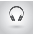 Modern headphones icon vector image vector image