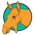 moose mascot vector image vector image
