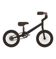 mountain bicycle isolated icon vector image vector image