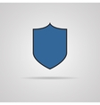 protection icon with shadow vector image vector image