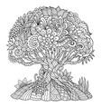 tree 1 vector image vector image