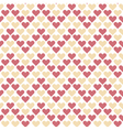 valentine seamless polka dot geometry pattern with vector image vector image