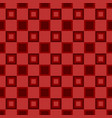 abstractal square pattern design background vector image vector image
