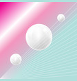 bright fantastic super background with planets vector image vector image
