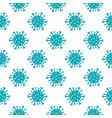 chinese coronavirus 2019-ncov seamless pattern vector image vector image