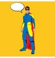 comic superhero vector image