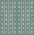 geometric laurel green coral pink and grey vector image vector image