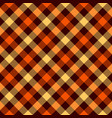 tartan seamless pattern background red black and vector image vector image