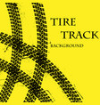 tire tracks wallpeper vector image vector image