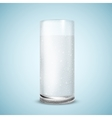 water glass vector image vector image
