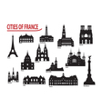 City of France vector image vector image