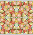 colorful beautiful floral seamless pattern vector image vector image
