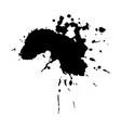 ebony ink blob vector image