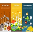 Eco Banner Concept vector image vector image