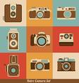 Retro Cameras vector image
