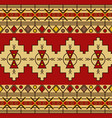 traditional tribal ethnic seamless pattern vector image vector image