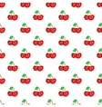 Two cherries pattern cartoon style vector image vector image