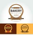 logo bakery for shops vector image