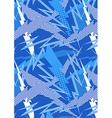 Blue lightning vector image vector image