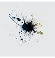 Ink blot vector image vector image