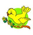 nature bird logo nature bird logo animal rescue vector image vector image
