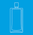 scent bottle icon outline style vector image vector image