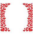 valentine day heart icon vector image