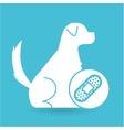 veterinary clinic concept cure band vector image