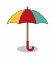 umbrella travel isolated icon vector image