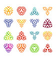 set of badges and labels elements colorful vector image