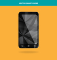 Abstract Crystal Smart Phone vector image vector image