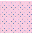 blue dots pattern pink background image vector image