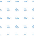 home icon pattern seamless white background vector image vector image