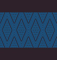 seamless line thai blue pattern arts of vector image vector image