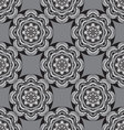 seamless monochrome ornament vector image vector image