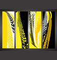 tire banners set vector image vector image