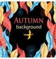 Autumn beautiful vector image vector image