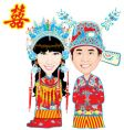 chinese wedding vector image vector image
